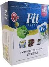Заменитель сахара, Фит Парад саше 0.5 г №100 №14 на основе эритритола коробка