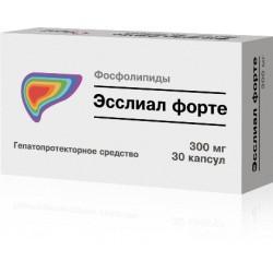 Эсслиал форте, капс. 0.3 г №90