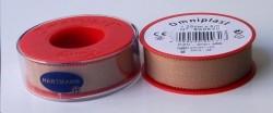 Пластырь фиксирующий, Омнипласт р. 1.25смх5м №1 арт. 900530 из текстильной ткани телесный