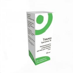 Теалоз, р-р 10 мл №1 Увлажняющий и смазывающий для защиты глаз