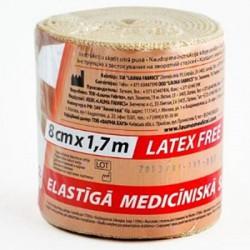 Бинт эластичный, Лаума р. 1.7мх8см