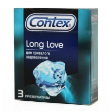 Презервативы, Контекс №3 лонг лав продлевающие половой акт