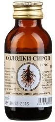 Солодки корень, сироп 100 г №1